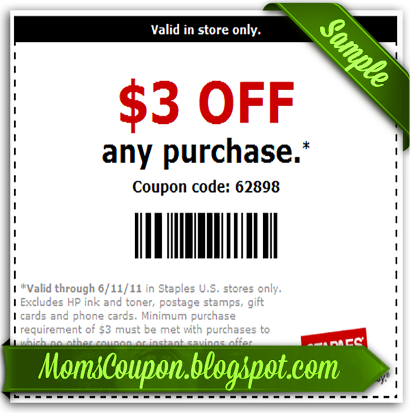 Get more, save more with Free Printable Staples Coupons ...