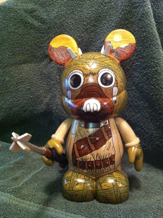 Star Wars Vinylmation Figures. Custom Vinylmation Cesar Diaz