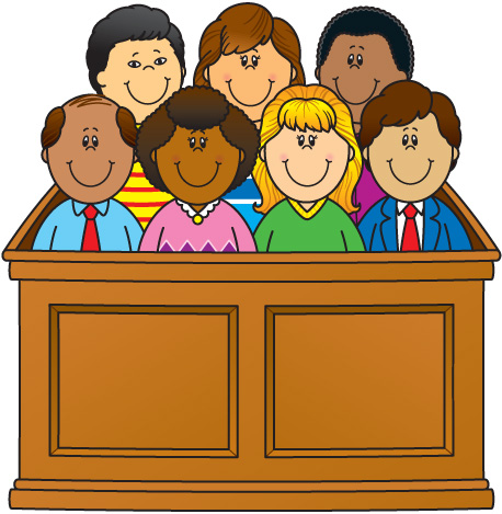 Gallery For > Jury Clipart
