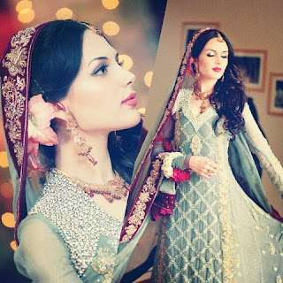 Beautiful bride 'Aisha Linnea Akhter -Pakistan Celebrities