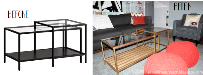 Some Like A Project A Golden Ikea Hack