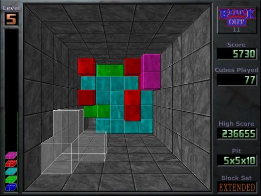 play 3d tetris