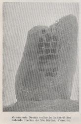 Detalle altar druida.