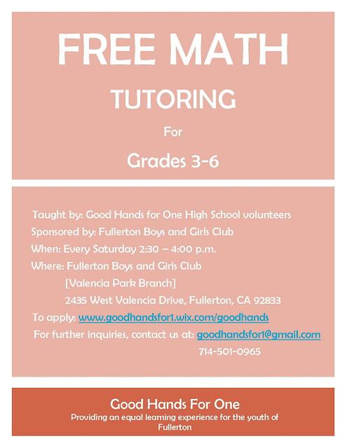 Math tutoring online free