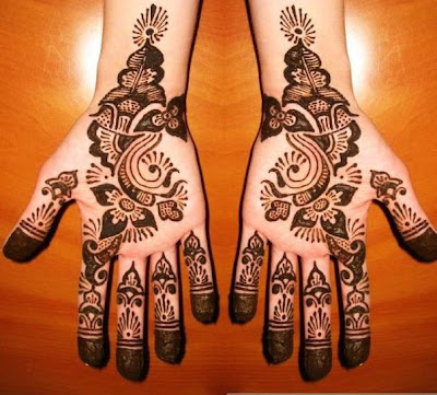 OLD FASHION MEHANDI ART