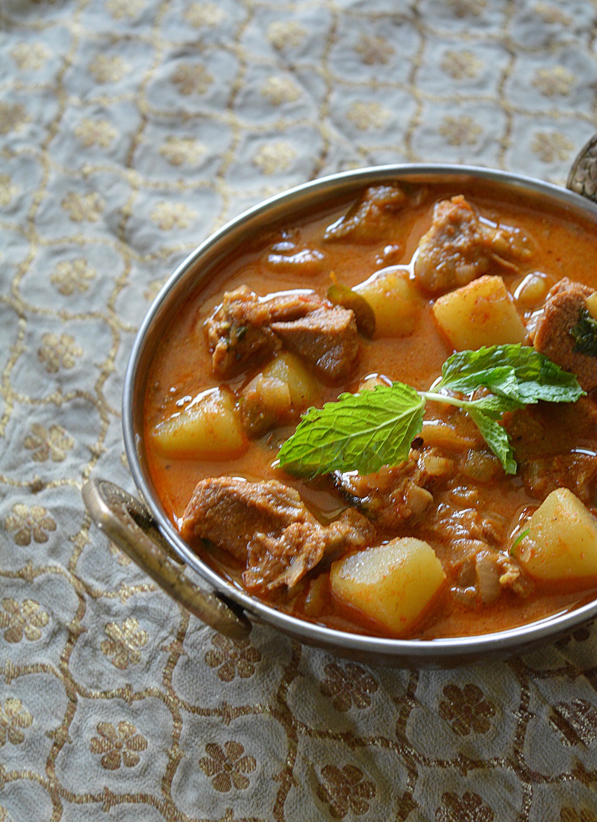 South Indian Mutton/Goat/ Lamb Curry