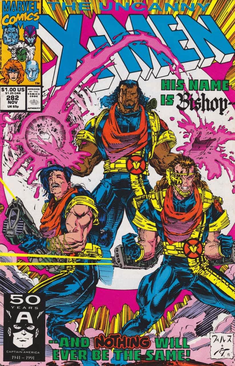 Bishop Marvel X-Men 281