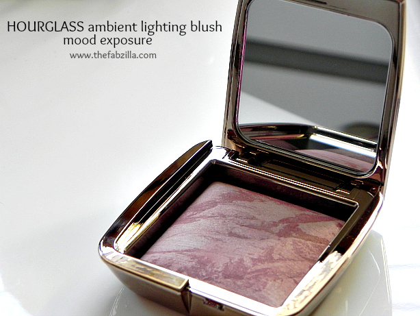 hourglass ambient lighting blush mood exposure, review, swatch, best blush for medium skin