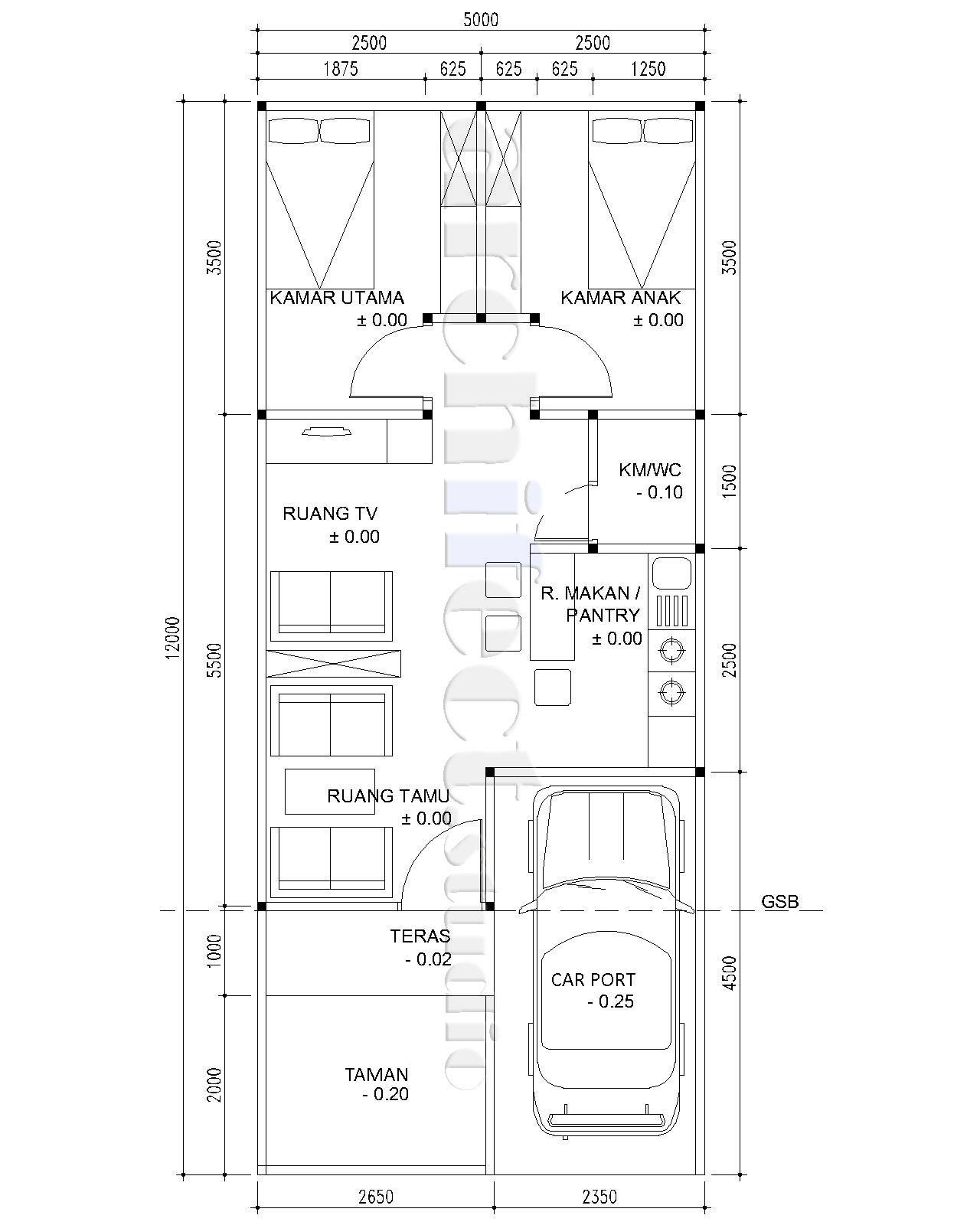 Archifect Studio Menyiasati Desain Ruang Rumah Tinggal Di Lahan