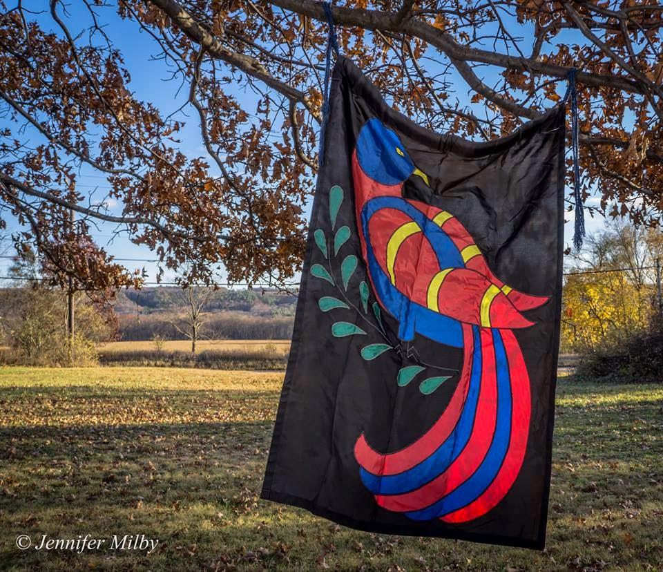 Distelfink's Banner