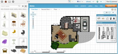 floorplanner disegna gratis la planimetria di casa