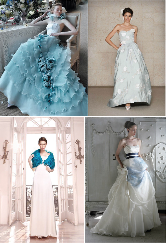 25 Ways to Something Blue Belle the Magazine The Wedding Blog