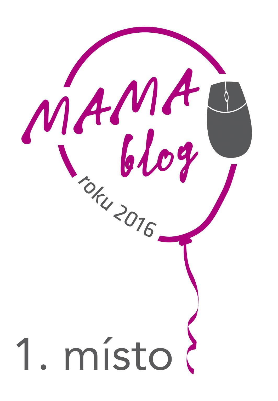 vítěz čtenářské ankety MAMAblog roku 2016