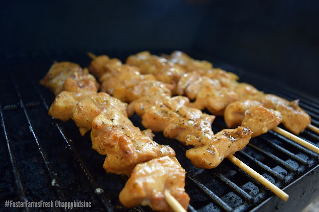 Lime Ginger Chicken Skewers recipe