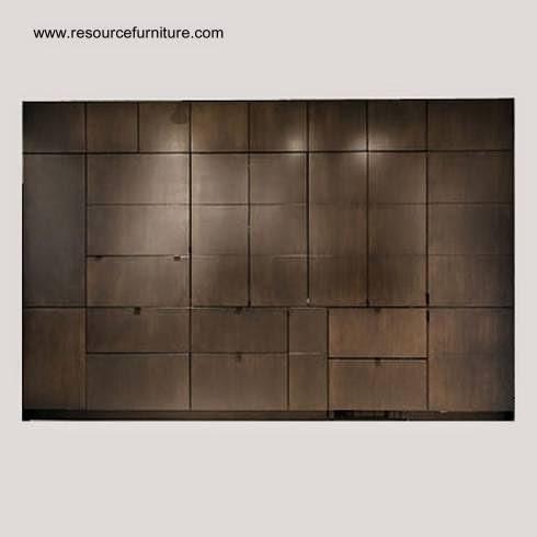 Frente del mueble de pared cerrado
