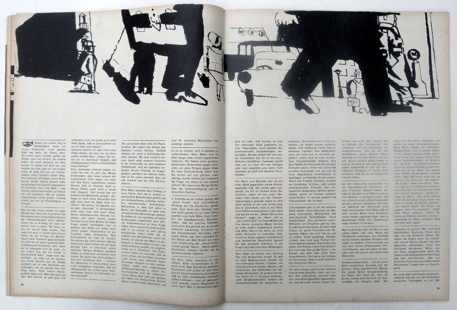 Past Print: twen (selected pages) issue 7 / 1961