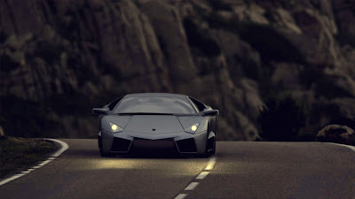 Lamborghini Reverton on Road HD Sport Car Wallpaper