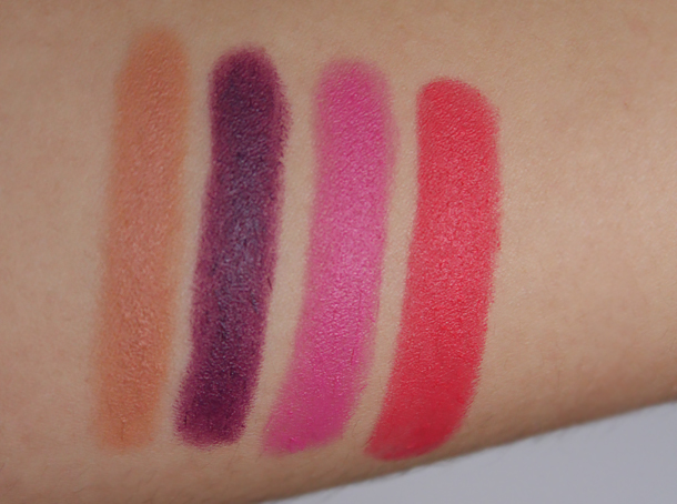 revlon colorburst matte balm review unapologetic shameless complex showy swatches