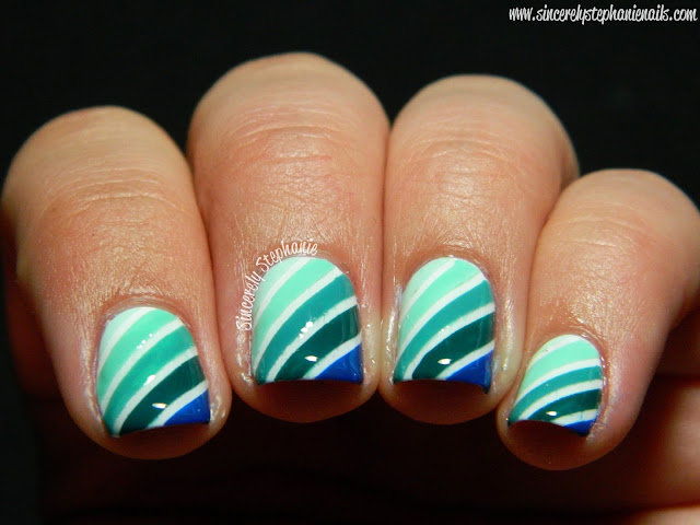 Striping Tape Nails