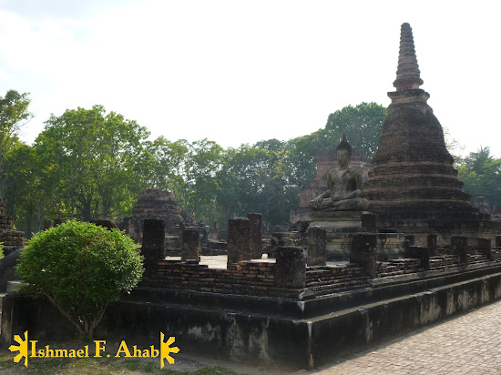Temle ruins in Sukhothai Historical Park