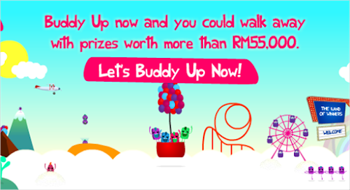 Great Eastern 'Buddy Up' Contest