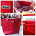 Lacoste Bags & Zara clothes