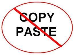 Tidak Bisa Di Copy Paste di Blog