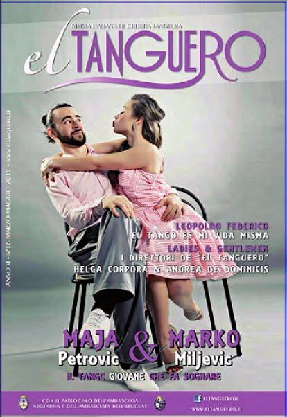 El Tanguero (Italia) N° 128 - Marzo/Mayo 2015