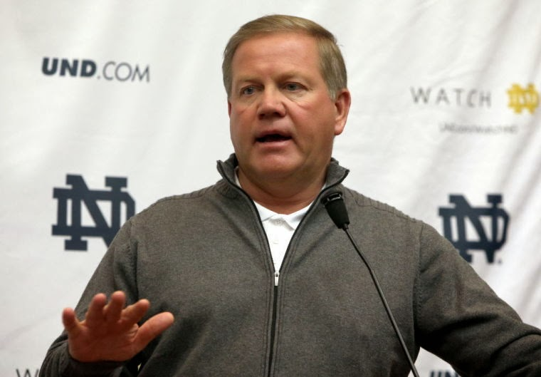 Brian Kelly on Prince Shembo regarding the Lizzy Seeberg case