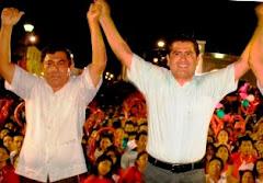 Triunfan Candidatos PRI-PVEM Elección Municipio Calkiní. 3julio2012.
