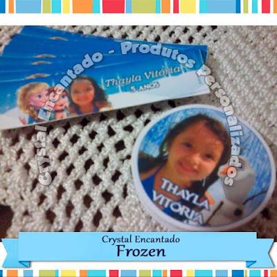 Adesivos Frozen