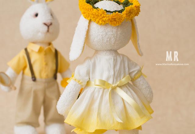 Солнечные зайчики. Авторские игрушки ручной работы от Марины Росляковой. Hand made, Marina Roslyakova