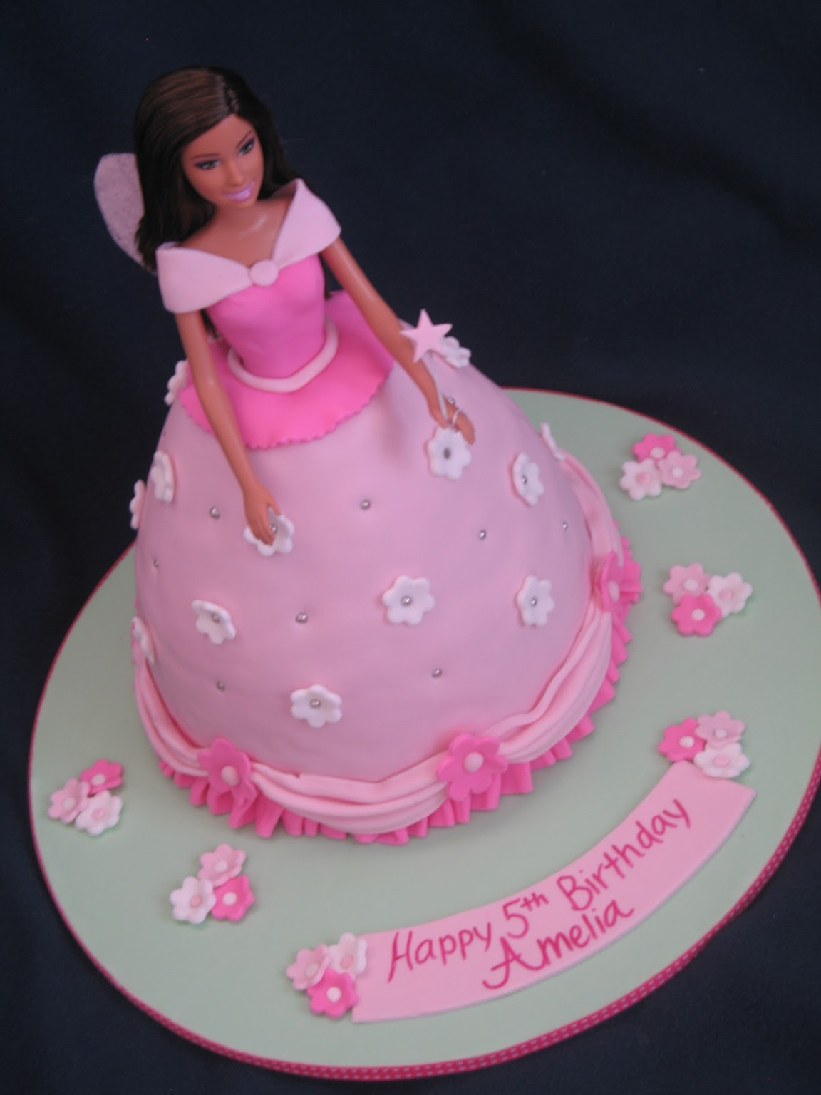 Blissfully Sweet A Barbie Beauty Birthday Cake