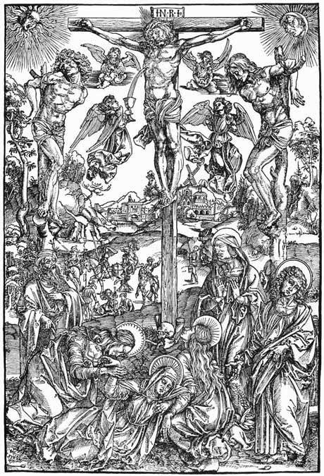 Albrecht Durer: Crucifixion, Woodcut, 1498