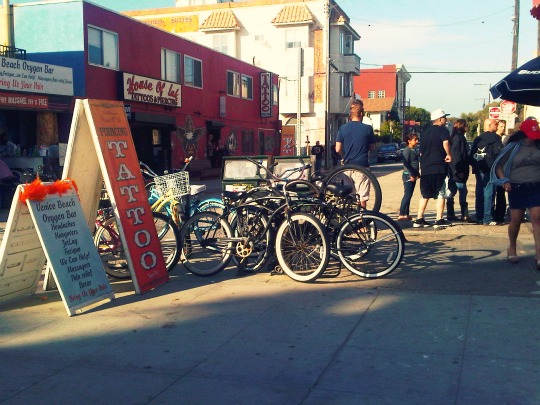 bike parking party