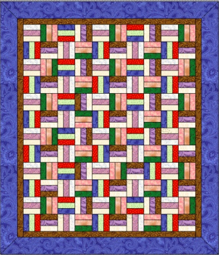 Easy Quilt Patterns Rail Fence : Nine Patch And Rail Fence Quilt Pattern - rutrackerkings
