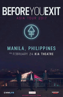Before You Exit Live in Manila