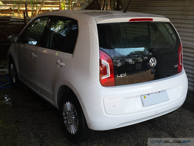 VW Up! TSI - Consumo