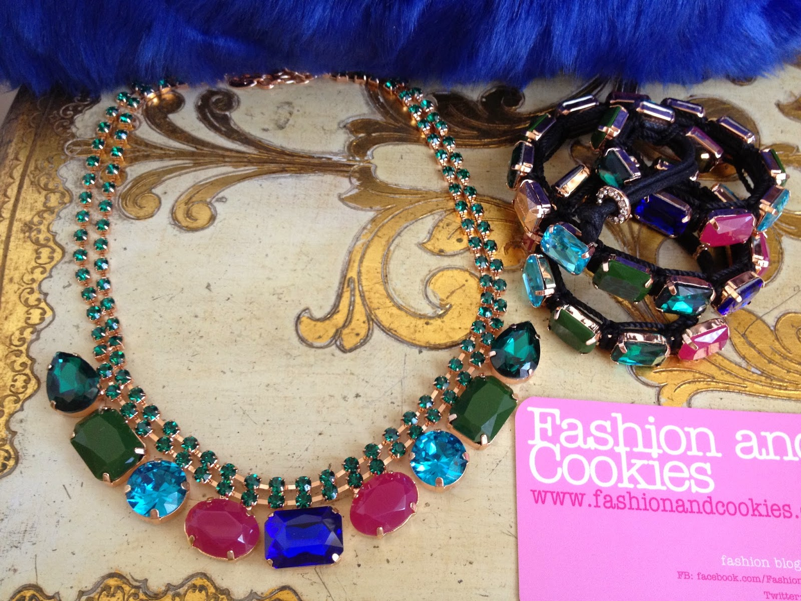Sodini bijoux autunno inverno 2014 2015, new necklaces and bracelets, faux fur bag, Fashion and Cookies, fashion blogger