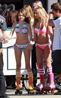 Ashley Tisdale Bikini, Sarah Hyland Bikini