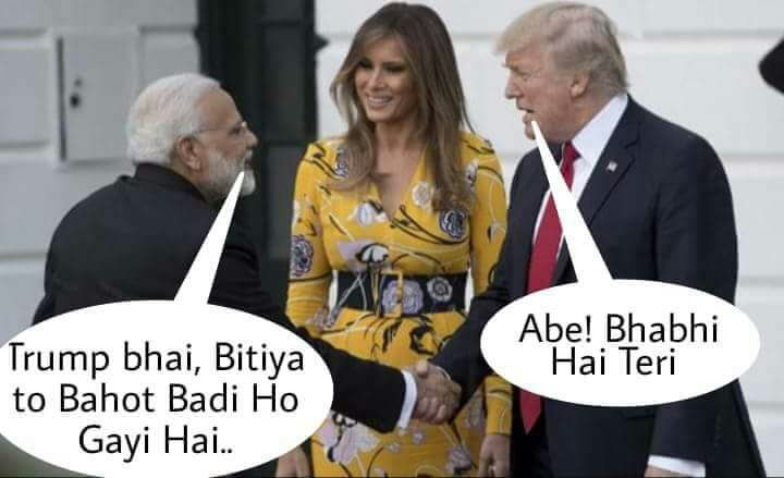 Modi meets the First Daughter