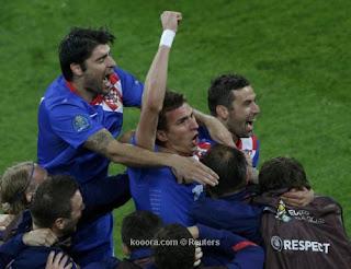 أهداف مباراة كرواتيا وايرلندا 3-1 في بطولة اليورو 10-6-2012