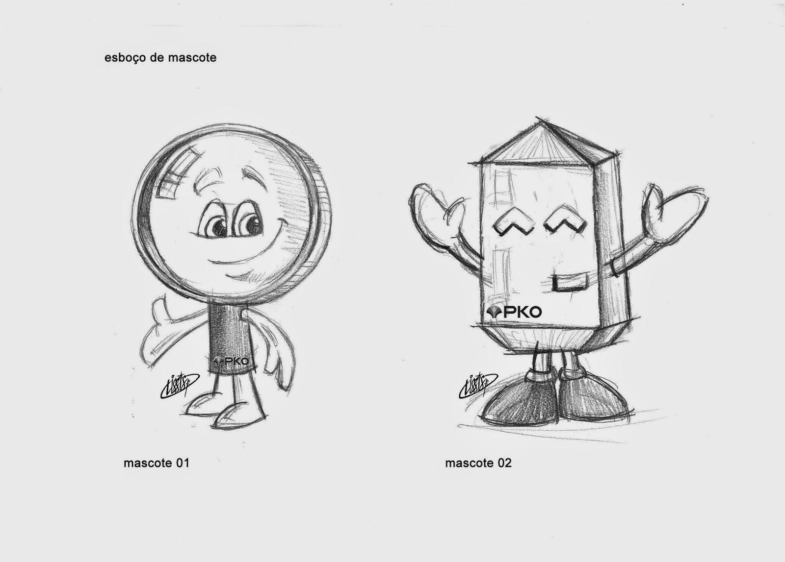 esboço de mascote 01