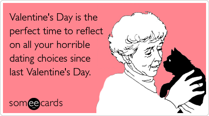 I have to start of by saying I hate Valentine's day and I always have.