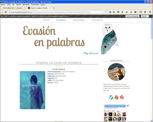 http://evasionenpalabras.blogspot.com.es/2015/10/resena-la-cinta-de-moebius.html?showComment=1445186607933#c4605568305240378164