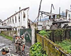 Bimal Gurung visits destroyed Ambootia tea factory, offers GTA aid