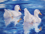 Painting Ducks in Pastels
