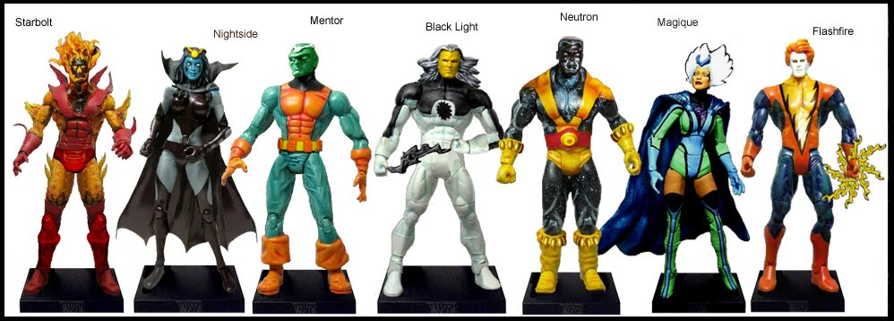 <b>Wave 24</b>: Starbolt, Nightside, Mentor, Black Light, Neutron, Magique and Flashfire