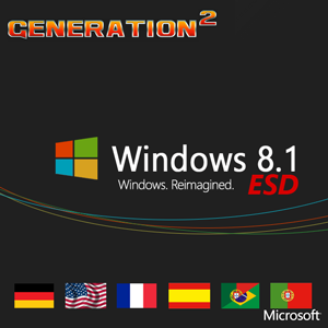 Windows 8.1 Pro VL X86/X64 4in1 OEM MULTi-6 Sep 2015 – Generation2