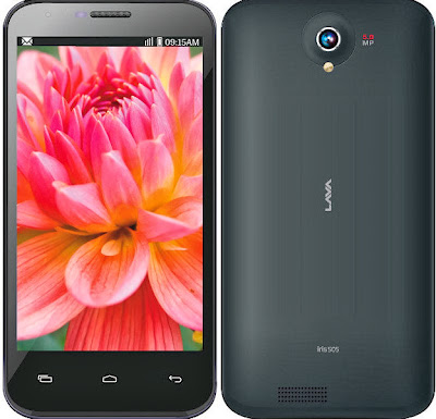 Lava Iris 505 - Top 5 Best Android Phones
